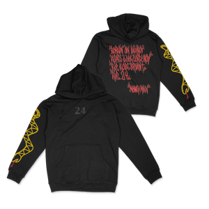 24 Black Hoodie + Digital Download