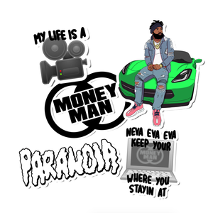 Money Man Sticker Pack + Digital Download
