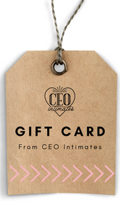 CEO Intimates Gift Card