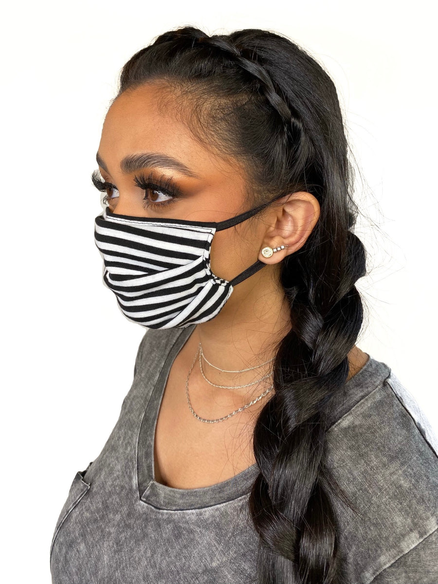 Superbly soft, micro-modal face masks are like pajamas for your face. All are made from micro-modal which is incredibly comfortable, breathable and machine washable. Solid Colored and Striped and Tie Dye Face Masks
