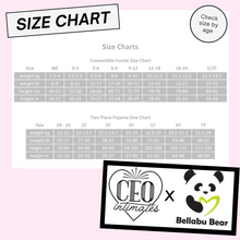 Load image into Gallery viewer, CEO Intimates x Bellabu Bear Two Piece Set