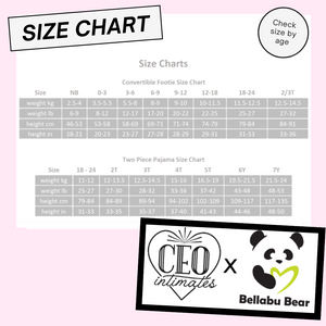 CEO Intimates x Bellabu Bear Two Piece Set