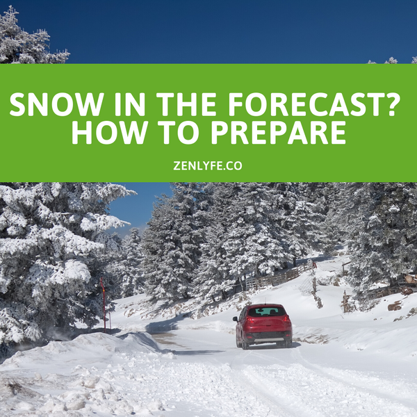 Snow in the Forecast? How to Prepare and Stay Safe