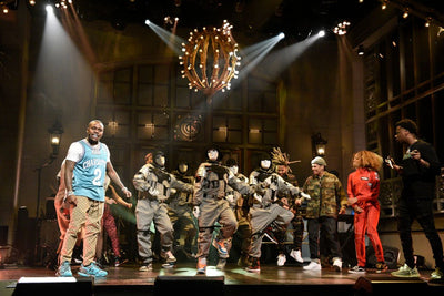Jabbawockeez on Saturday Night Live  w/ DaBaby