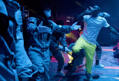 "Jabbawockeez appear in DaBaby's ""Shut Up"" music video"