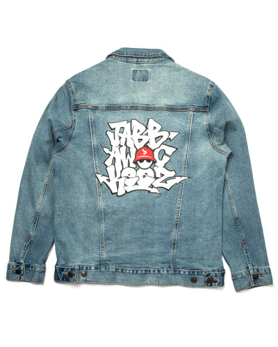 Denim Jacket - 3 Stack Graffiti