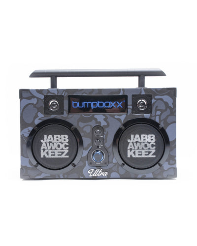 Bumpboxx Black Camo Limited Edition Ultra Bluetooth Boombox