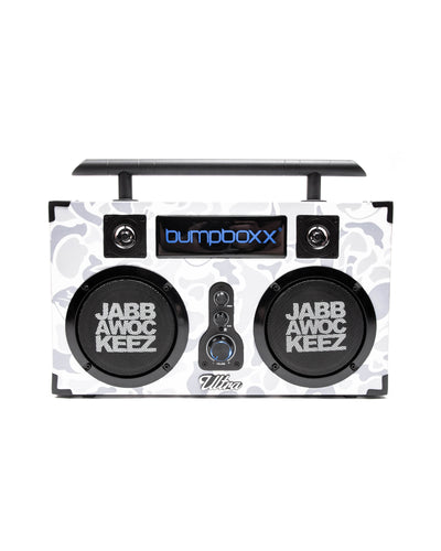 Bumpboxx White Camo Limited Edition Ultra Bluetooth Boombox