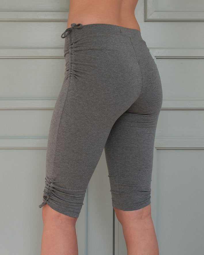 Grey Pigeon pants short