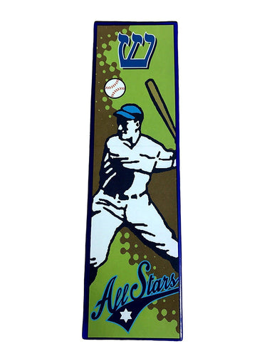 Legends Baseball Player Mezuzah