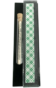 Klezmer Music Art Glass Mezuzah