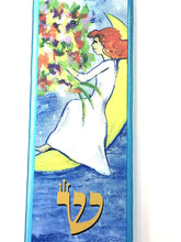 Load image into Gallery viewer, Woman of Valor Mezuzah - Sitting Moon