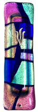 Load image into Gallery viewer, Mosaic Cobalt Mezuzah
