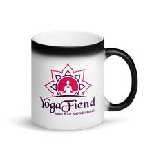 Load image into Gallery viewer, Matte Black Magic Mug-YOGA FIEND