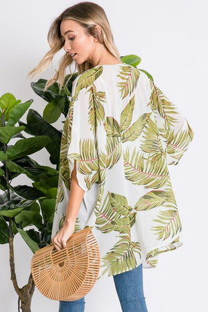 Palm Leaf Cardigan