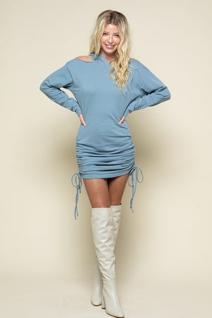 AMPLIFIED HOODY DRESS