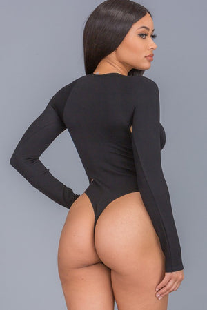 SIDE CUTOUT BODYSUIT