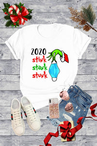 2020 STINK STANK STUNK TEE (ROUNDED)