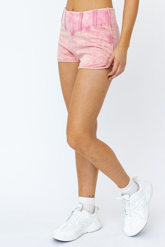 Mineral Wash Sweatshorts