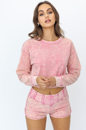 Mineral Wash Sweatshirt