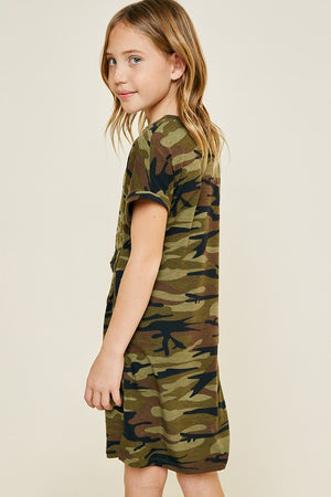 Girls Camo Dress