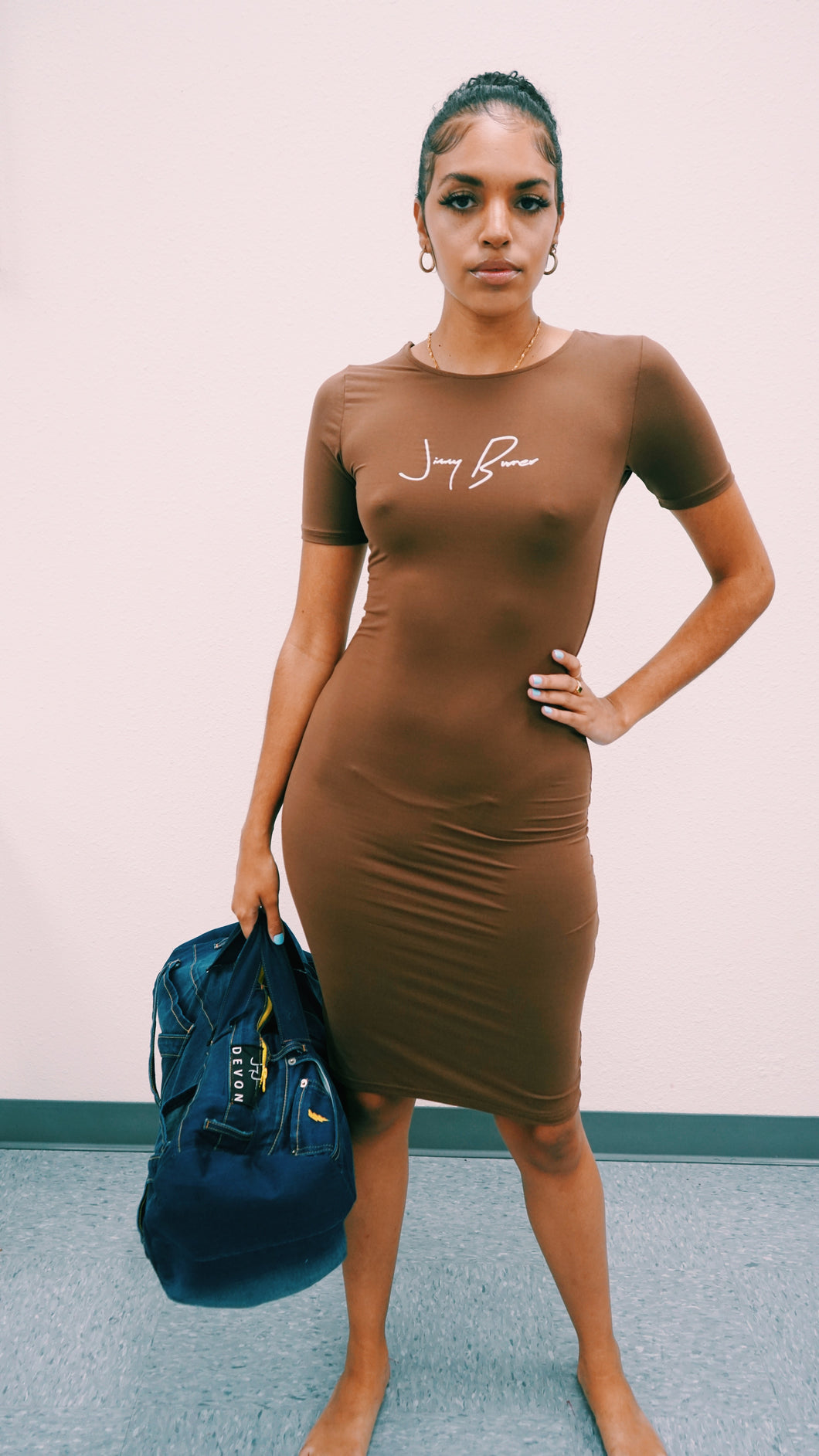 Chocolate JB dress