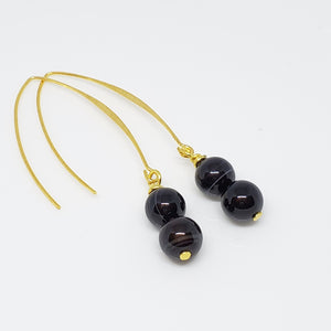 Black Stripe Agate Stone