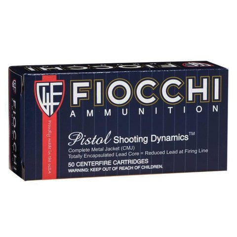 Ammunition-Fiocchi 38spl 125 Grain Weight Cmj 50-1000-Cobratac SKU 762344710952