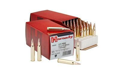 Ammunition-Hornady Hunting, 223 rem, 55 Grain, Full Metal Jacket Sp | 50RDS-Cobratac SKU 090255802559