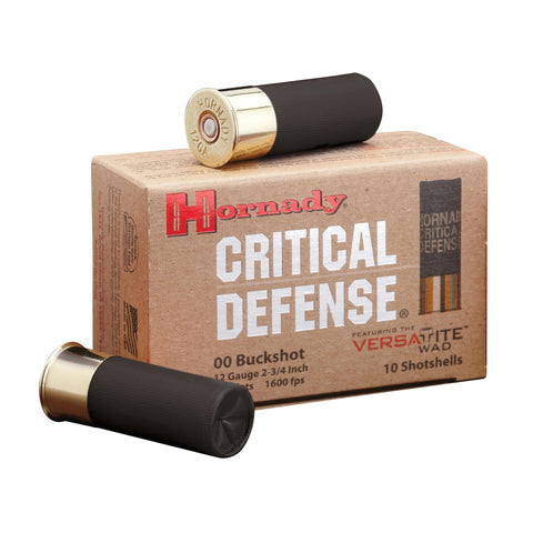 Ammunition-Hrndy 12ga 00 Buck Crt Dfnse 10-100-Cobratac SKU 090255862409