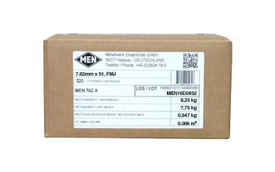 Ammunition-Magtech Men 7.62 Nato 147 Grain Weight | 320 rd-Cobratac SKU 754908919222
