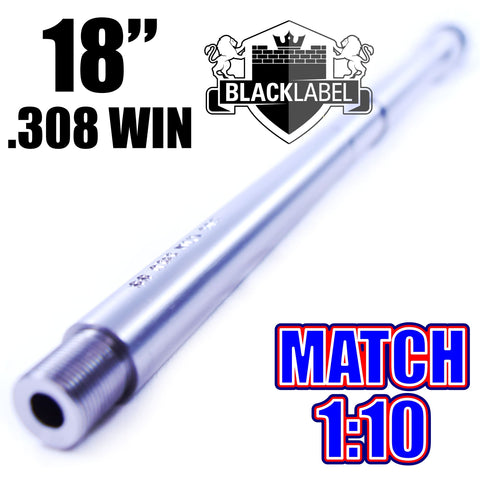 "Barrels-18"" .308 WIN SOCOM BARREL 1:10 STAINLESS 