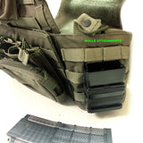 Belts and Holsters-7.62/.308 Fast Fang HD Gen III Single Magazine Mag Holster/Pouch - Molle Version-Cobratac SKU GB-W-065A