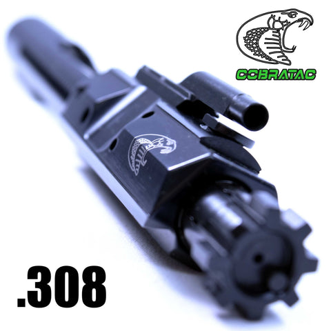 Bolt Carrier Groups-Cobratac Match .308 BCG LR-308 Bolt Carrier Group | Black Nitride-Cobratac SKU