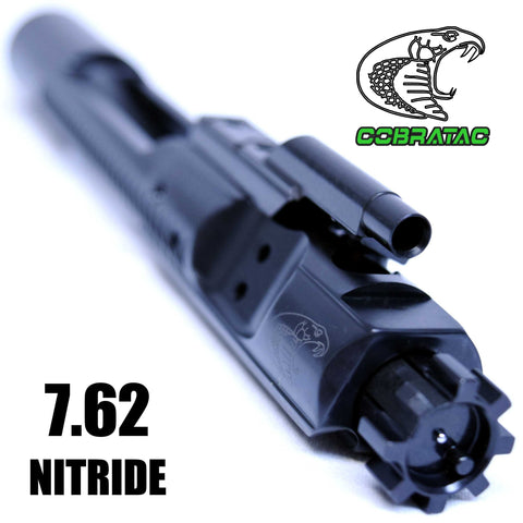 Bolt Carrier Groups-Obsidian Match 7.62 or Grendel Type I Black Nitride BCG | Melonite Bolt Carrier Group-Cobratac SKU