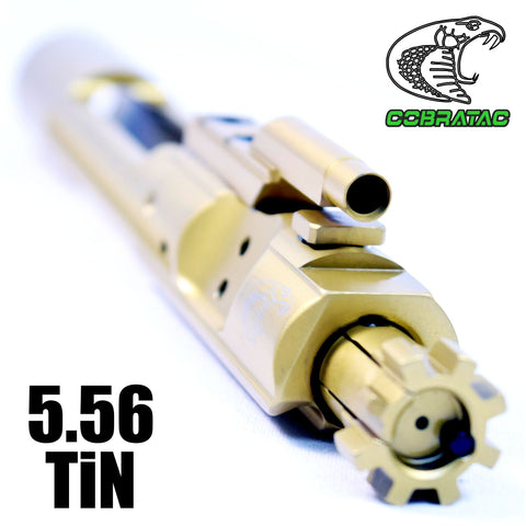 Bolt Carrier Groups-Obsidian Ultra Match 5.56 TiN BCG | Titanium Nitride Bolt Carrier Group-Cobratac SKU
