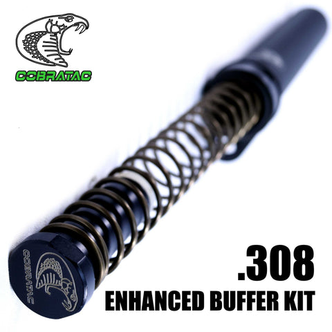BUFFER KIT-Cobratac Enhanced .308 Carbine Stock Buffer Kit Assembly | LR-308/AR-10-Cobratac SKU ASSY item