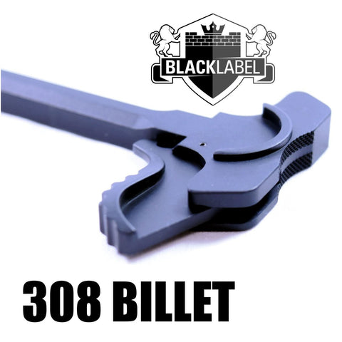 Charging Handles-308 Battle Latch Charging Handle Assembly - Black-Cobratac SKU