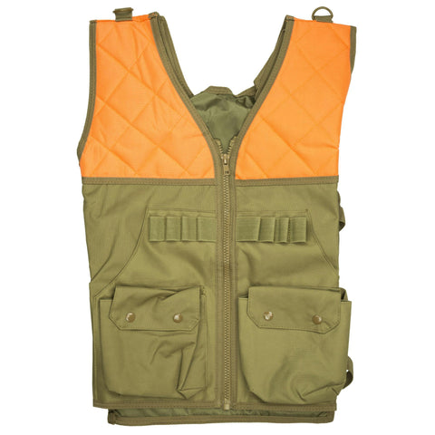 Clothing-Ncstar Vism Hunting Vest Org-tan-Cobratac SKU 814108017897
