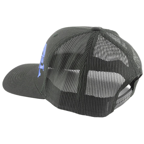 Clothing-Phu Skull Trucker Hat Black-blu-Cobratac SKU 818584022925
