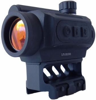 Dot Sight-Black Spider Optics Red Dot Sight | 3 MOA-Cobratac SKU 865887000105