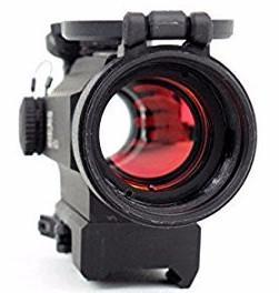 Dot Sight-Holosun Technologies, HS401R5 Red Dot, Integrated Red Laser | 2 MOA 30mm-Cobratac SKU 760921087251
