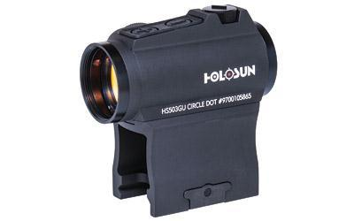 Dot Sight-Holosun Technologies Hs503gu Micro Red Dot Dual Reticles Side Battery-Cobratac SKU 760921087688