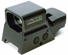 Dot Sight-Konus Sight-Pro R8 Rechargeable Red/Green Dot Sight-Cobratac SKU 698156073766