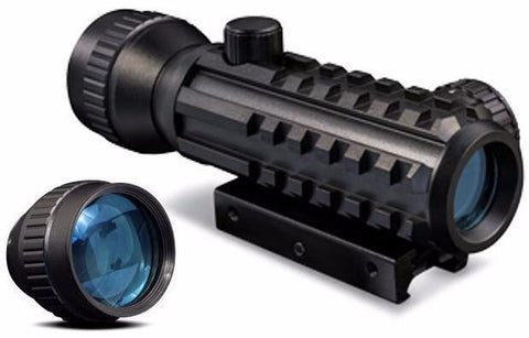 Dot Sight-Konus Sight-pro, Tactical Red Dot, 1x30mm | W/ 2X Magnifier-Cobratac SKU 698156073773