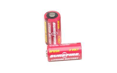 Flashlights & Batteries-Surefire Sf123a Batteries 2pk-Cobratac SKU 084871820141