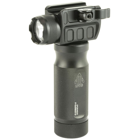 Flashlights & Batteries-Utg Grip Lght 400 Lum W-qd Mnt Base-Cobratac SKU 4717385551350