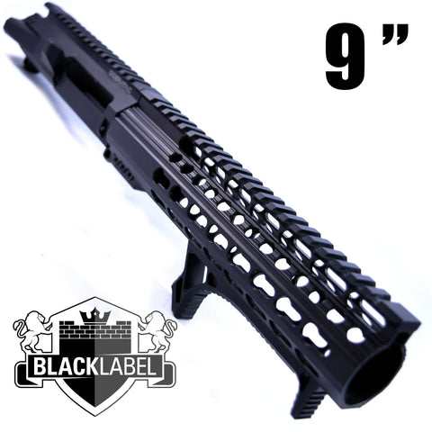"HANDGUARD-9.125"" Black Label Ultra Slim Keymod Handguard 