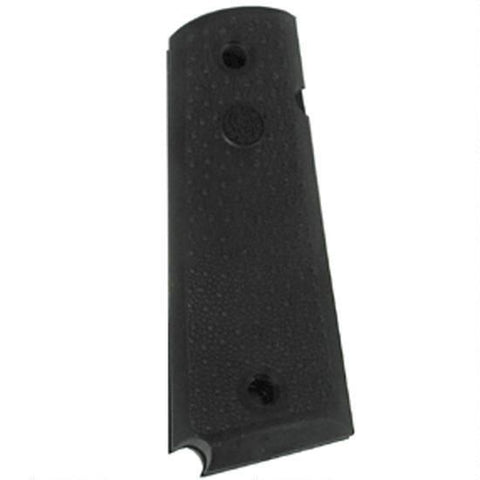 Handgun Grip-Hogue Panels 1911 Government, Commander with Palm Swells No Finger Groove Grip Rubber Black 45090-Cobratac SKU 743108450901