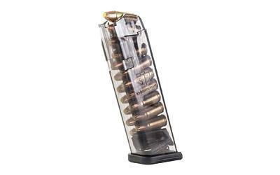 High Capacity Magazines-Ets Mag For Glk 9mm 17rd Smoke-Cobratac SKU 854094005140
